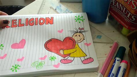c 243 mo marcar cuaderno de religi 243 n f 225 cil y lindo para ni 241 a