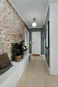 Meuble Couloir étroit : 1001 id es pour savoir quelle couleur pour un couloir comment d corer un couloir ~ Teatrodelosmanantiales.com Idées de Décoration