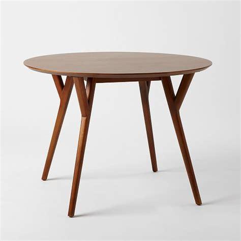 west elm mid century table mid century round dining table west elm