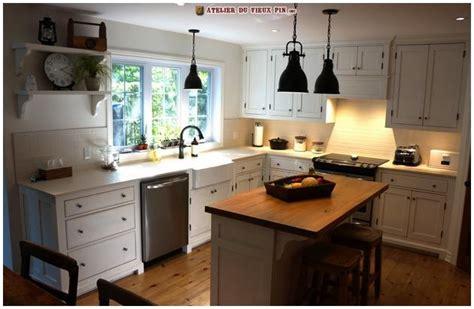 d馗o cuisine blanche armoire de cuisine blanche sur mesure