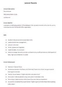 resume format for lecturer in computer science fresher pdf converter sle resume december 2015