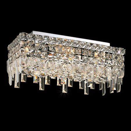 elegant lighting fcec crystal maxime rectangular