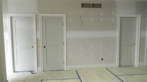 doors and more door trim and the baseboard the charming baseboards