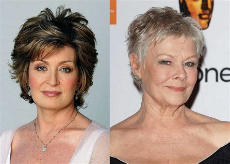 20 Short Hairstyles For Mature Women