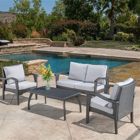 Patio Furniture Sets Clearance Sale Loveseat Coffee Table