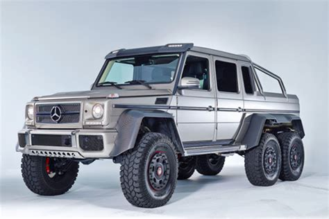 Bullet Proof Mercedes Benz G63 Amg 6×6 Delivers The