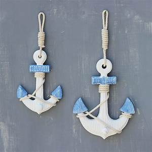 Small size mediterranean style anchor wall hangings