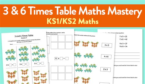 9 challenging maths mastery worksheets for teaching the