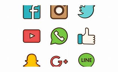 Social Clipart Icons Networking Clip Network Cliparts