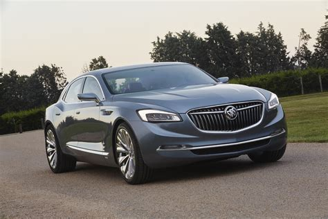 buick vehicles buick avenir concept has new buick grille new logo gm