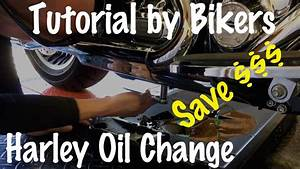 How to Change Oil on a Harley Harley Davidson Motorcycle