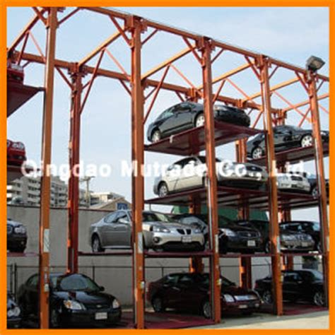 portable parking garage china garage parking lot portable car lift fpsp 4