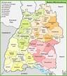 Baden-Württemberg Maps   Germany   Maps of Baden-Württemberg