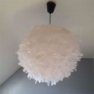 Lustre Boule Plume : lustre plume maison lampes pinterest lustre plume ~ Teatrodelosmanantiales.com Idées de Décoration