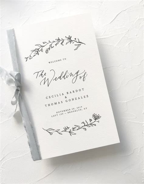 wedding order  service wording template   include