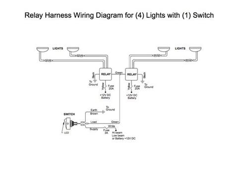 Wiring Relay Switch Land Rover Overlanding