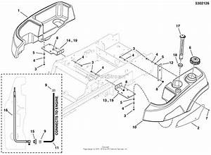Simplicity 5901407   48 U0026quot  Mower Parts Diagram For Fuel Tank  U0026 Mount Group