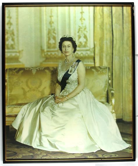 portrait queen elizabeth ii