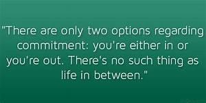 Commitment Quotes WeNeedFun
