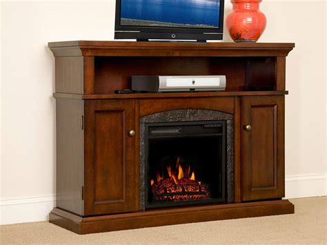 lynwood  vintage cherry media console electric