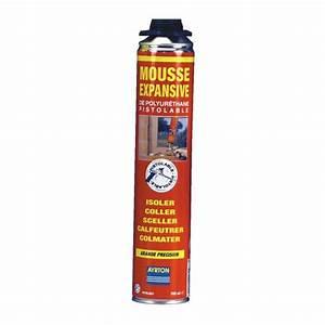 Bombe Mousse Polyuréthane Prix : mousse polyur thane bombe pistolable visser 750 ml ~ Premium-room.com Idées de Décoration