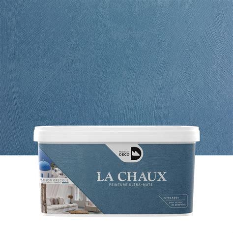peinture chaux leroy merlin peinture 224 effet la chaux maison grecque maison deco cyclades 2 5 l leroy merlin