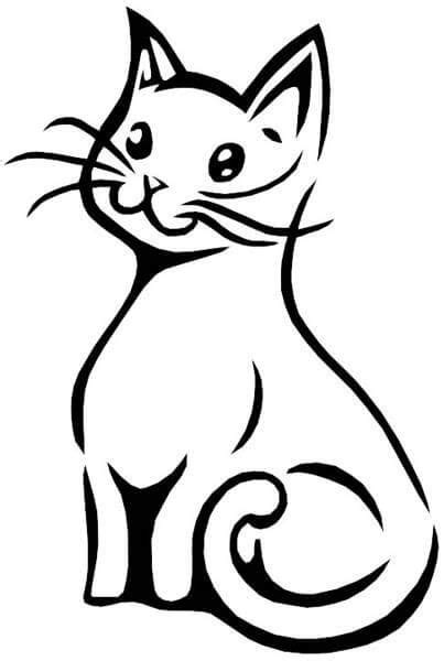 Cat Tattoo Designs - The Body is a Canvas | Black cat