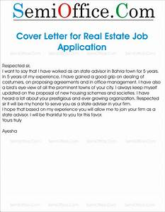 job application letter for employment in estate management With cover letter for real estate application