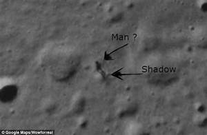 Could This Google Moon Image Be Proof Of Alien Life? (Video)