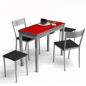 Table Cuisine Petit Espace : table de cuisine extensible en verre table petit espace delibro modularit espace ~ Teatrodelosmanantiales.com Idées de Décoration