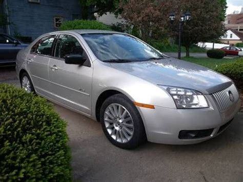 2007 Mercury Milan by Purchase Used 2007 Mercury Milan Premier Sedan 4 Door 3 0l