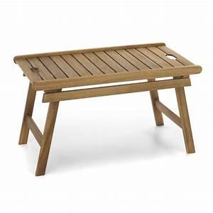 Table Basse Salon De Jardin : table basse avec plateau amovible naturel rangiroa tables basses de jardin salon de jardin ~ Teatrodelosmanantiales.com Idées de Décoration