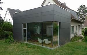 Anbau Haus Glas : der anbau ist schlicht elegant und wartungsfrei modern ~ Lizthompson.info Haus und Dekorationen