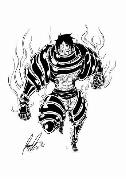 Luffy Snake Gear Piece Snakeman Manga Katakuri