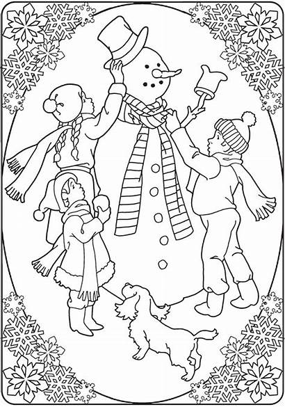 Christmas Fashioned Coloring Pages Dover Creative Publications