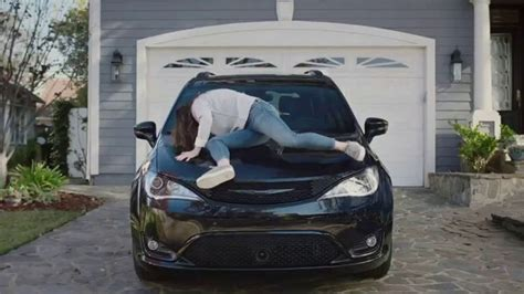 chrysler pacifica  tv commercial  jam feat kathryn hahn song  scorpions  ispottv