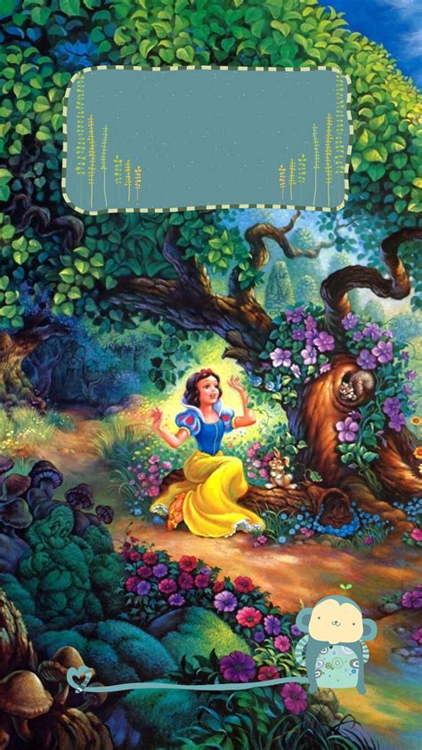 Disney wallpaper & lock screen is a wallpaper app that is provided free of charge to you, disney fans around the world. TAP AND GET THE FREE APP! Lockscreens Art Creative Multicolour Cartoon Snow White Seven Dwarfs ...