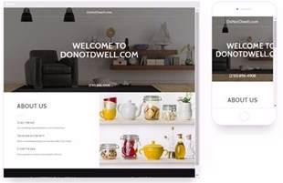Go Daddy Website Builder Examples