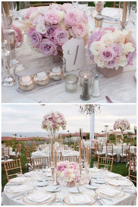 1000 Ideas About Blush Wedding Centerpieces On Pinterest