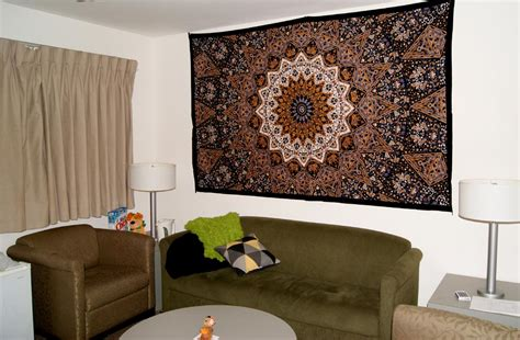 Cool Tapestries For Dorm Rooms Living Room City Hall Latest Sofa Designs Design With Black Furniture Gold Lamps Restaurant Newcastle Another Escape Wooden Colour Schemes 2011