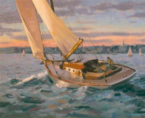 Sailboat Oil Painting by How To Enjoy This Sailboat Oil Painting Yeahart Prlog