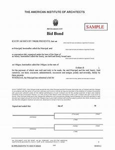 what is a bid bond and why is it required With bid bond letter sample