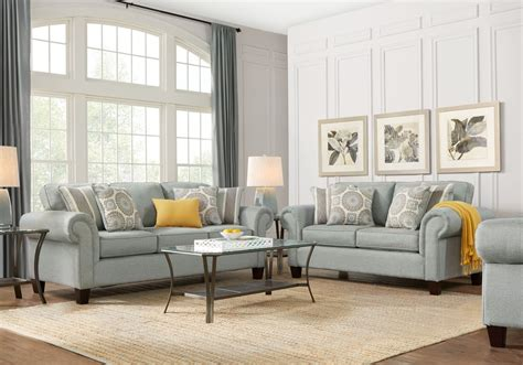 pennington blue 2 pc living room living room sets blue