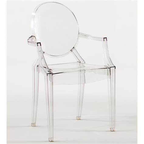 kartell louis ghost glasklar stuhl transparent philippe starck