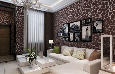 Memilih Desain Wallpaper Dinding Ruang Tamu Renovasi
