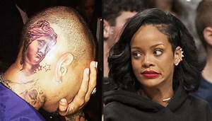 Rihanna disappointed with Chris Brown new tattoos, calls ...