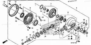 Honda Motorcycle 2010 Oem Parts Diagram For Final Driven