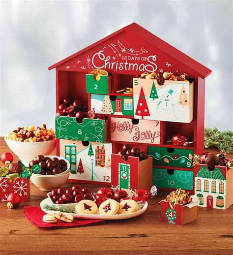 12 days of christmas gift keepsake christmas food gifts
