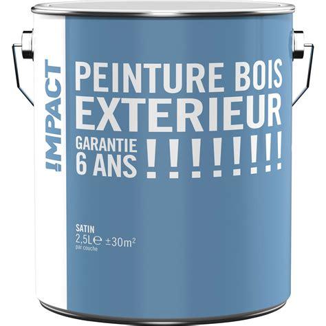 peinture sol exterieur leroy merlin peinture bois ext 233 rieur impact blanc 2 5 l leroy merlin