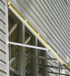 adjustable shutter stays  bahama shutters raise